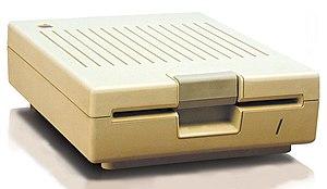 Disk II - Disk IIc drive.