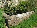 Disused brick built water trough at Philpots Farm - geograph.org.uk - 1437299.jpg