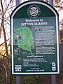 Ditton Quarry Sign - geograph.org.uk - 1118063.jpg