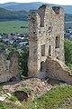 Divín - Divínsky hrad - bašta JV (3).jpg