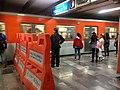 División de vagones exclusivos en metro 2.jpg