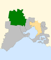 Division of Ballarat 2007 in outer Melbourne.png
