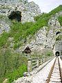 Dobrun, obnoveny usek uzkokolejne trati Sarajevo-Belehrad.jpg