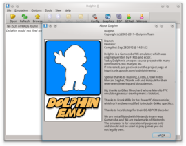 Screenshot di Dolphin (emulatore)
