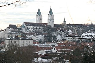 Freising Place in Bavaria, Germany
