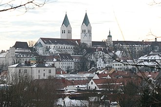 Freising - Domberg (cathedral hill) Freising