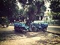 Dominos delivery motorcycles in Kolkata.jpg