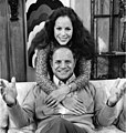 Don Rickles and Louise Sorel, 1971.jpg