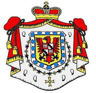 Fürstenberg-Fürstenberg - Image: Donaueschingen Fürstenberg Wappen