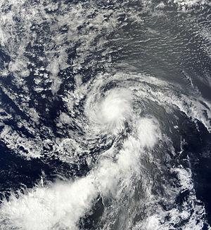 2013 Atlantic hurricane season - Image: Dorian Jul 25 2013 1255Z