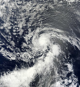 2013 Atlantic hurricane season - Image: Dorian Jul 25 2013 1255Z