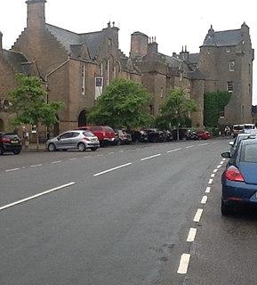 Dornoch Town in Highlands, Scotland