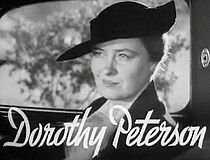 Dorothy Peterson in Pursuit trailer.jpg