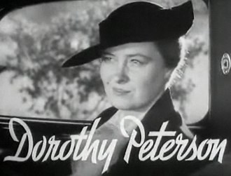 Dorothy Peterson - Dorothy Peterson in Pursuit (1935)