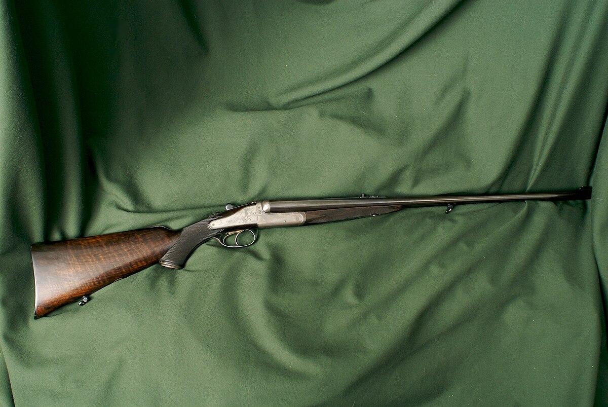 Double rifle - Wikipedia