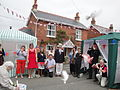 Dove release at Whitwell Diamond Jubilee 2012 street party 3.JPG