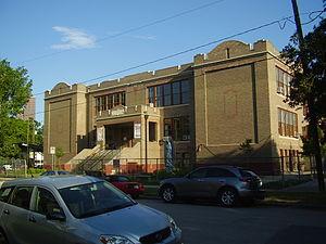Sixth Ward, Houston - The former Dow Elementary School