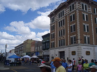 Cherry Street Historic District (Helena–West Helena, Arkansas) United States historic place