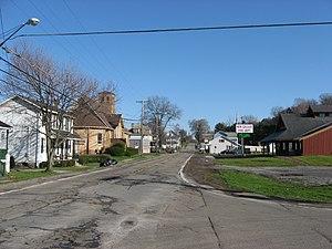 New Galilee, Pennsylvania - New Galilee's main street