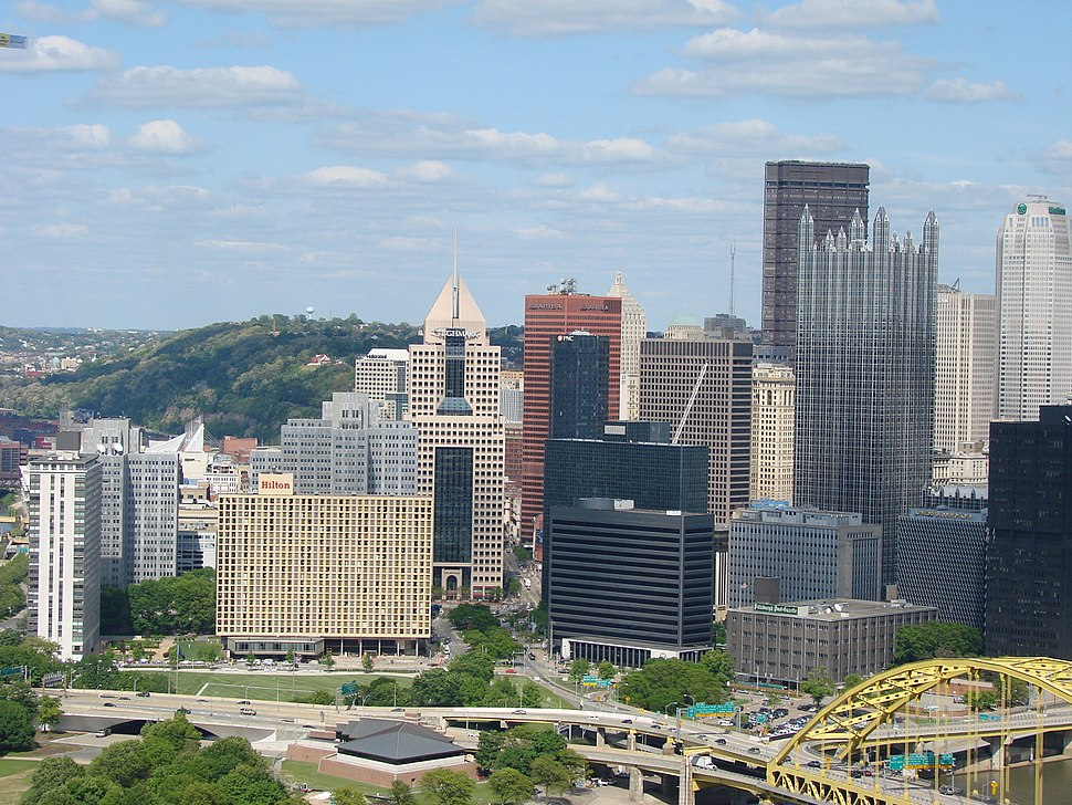 Downtown Pittsburgh May 2008