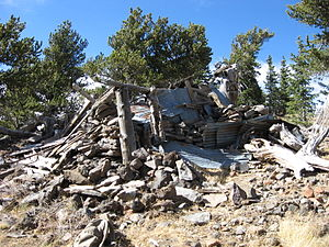 Doyle Peak - The cabin near the summit of Doyle Peak
