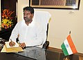 Dr. Kavuru Sambasiva Rao takes over the charge of Union Minister for Textiles, in New Delhi on June 19, 2013.jpg