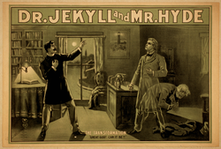 Poster from the 1880s