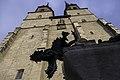Drache vom Drachenbrunnen an der Marktkirche von Halle (Saale) - Westseite - panoramio (2).jpg