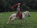 Draconarius - Roman Cavalry Reenactment - Roman Festival at Augusta Raurica - August 2013.JPG