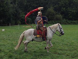 Draconarius - Draconarius - Reenactment at the Roman Festival 2013, Augusta Raurica