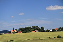 Drazice village from countryroad in summer 2011 (3).JPG