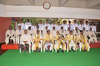 Man Mohan Sharma - Seventeenth Convocation Awarded Gold Medal for Exceptional Merit, Dr. Man Mohan Sharma at Convocation