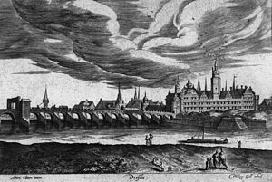 Dresden Castle - The castle in 1550