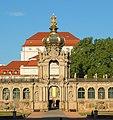 Dresden Altstadt Zwinger Kronentor 10.JPG