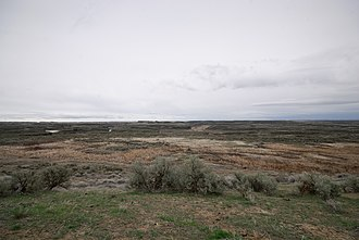 Columbia National Wildlife Refuge - Image: Drumheller Channels National Natural Landmark overlook