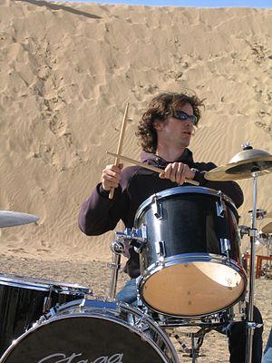Daniel Buess - Image: Drummin at gobi desert