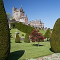 Drummond Castle - general view of keep and mansion from SE.jpg