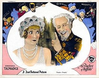 <i>The Duchess of Buffalo</i> 1926 film by Sidney Franklin
