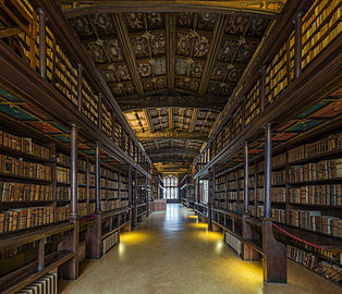 Duke Humfrey's Library Interior 2, Bodleian Library, Oxford, UK - Diliff.jpg
