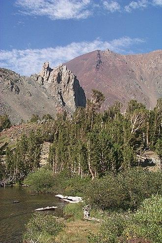 Hoover Wilderness - Image: Dunderberg Peak