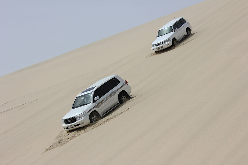 File:Dune Bashing Qatar.jpg