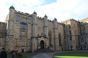 Durham Castle - Entrance to Bishop Bek's Great Hall
