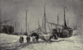 Dutch Painting in the 19th Century - H. W. Mesdag - A Beach in Winter.png