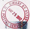 Dwarf, Kentucky Postmark.jpg