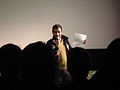 Eagleheart Q&A @ Cinefamily - host Aziz Ansari (6900577696).jpg