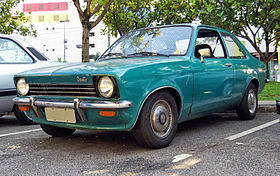 Early brazilian Chevrolet Chevette in turquoise.jpg