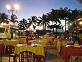 Early evening before the crowds descend to feast at Les Roulottes - panoramio.jpg