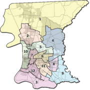 East Baton Rouge Parish District Map