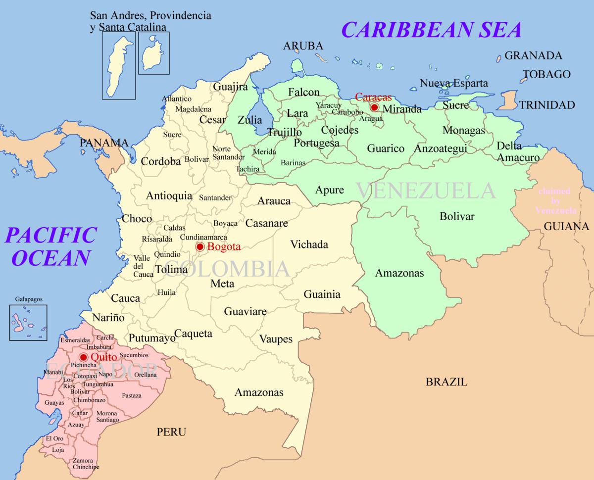 File Ecuador Colombia Venezuela Map Png Wikimedia Commons
