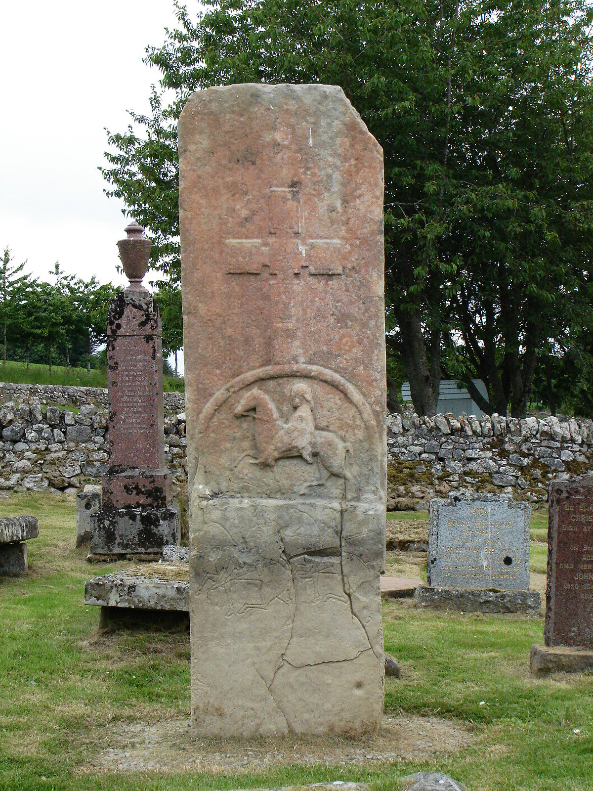 edderton cross slab - wikipedia